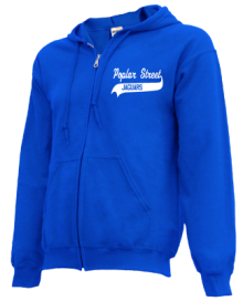 Poplar Street Middle School  Zip-up Hoodies