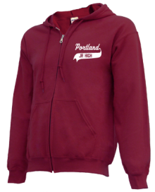 Portland Middle School  Zip-up Hoodies