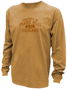 Prairie Hills Middle School  Pigment Dyed Shirts