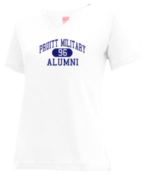 Pruitt Military Academy  V-neck Shirts