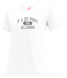 P S Du Pont Middle School  V-neck Shirts