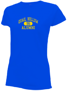 Quail Hollow Elementary School  Slimfit T-Shirts