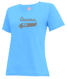 Queens Intermediate School  V-neck Shirts