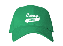 Quincy Junior High School Baseball Caps