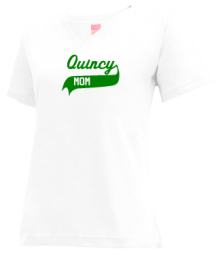 Quincy Junior High School V-neck Shirts