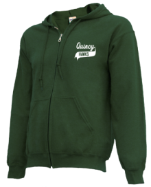 Quincy Junior High School Zip-up Hoodies