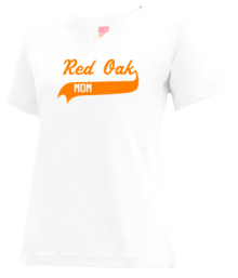 Red Oak Middle School  V-neck Shirts