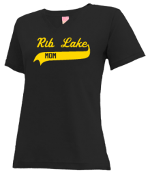 Rib Lake Elementary School  V-neck Shirts