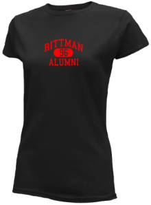 Rittman Middle School  Slimfit T-Shirts