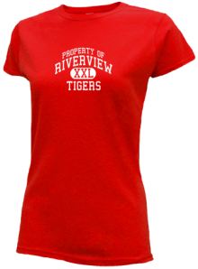Riverview Elementary School  Slimfit T-Shirts
