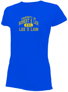 Robert E Lee Elementary School  Slimfit T-Shirts