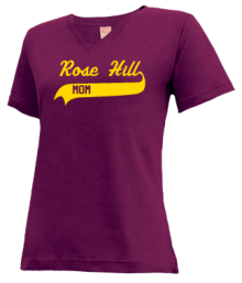 Rose Hill Elementary School  V-neck Shirts