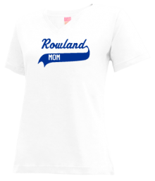 Rowland Middle School  V-neck Shirts