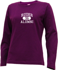 Ruder Elementary School  Long Sleeve Shirts