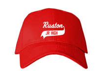 Ruston Junior High School Baseball Caps