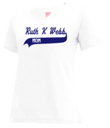 Ruth K Webb Elementary School  V-neck Shirts