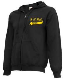 S A Hull Elementary School  Zip-up Hoodies