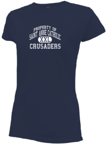 Saint Anne Catholic School  Slimfit T-Shirts