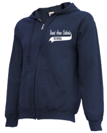 Saint Anne Catholic School  Zip-up Hoodies