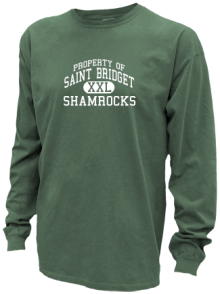 Saint Bridget School  Pigment Dyed Shirts