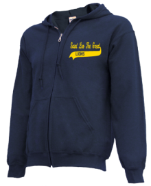 Saint Leo The Great School  Zip-up Hoodies