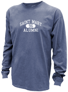 Saint Mary School  Pigment Dyed Shirts