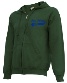 Saint Patrick School  Zip-up Hoodies