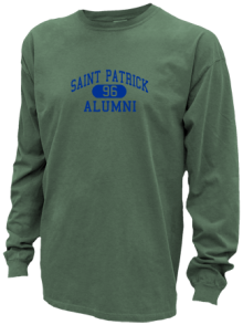 Saint Patrick School  Pigment Dyed Shirts