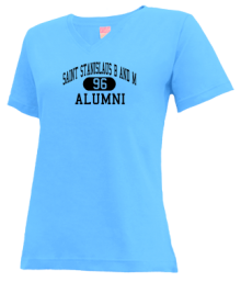 Saint Stanislaus B And M School  V-neck Shirts