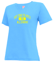 Saint Thomas The Apostle School  V-neck Shirts