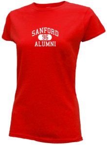 Sanford Junior High School Slimfit T-Shirts