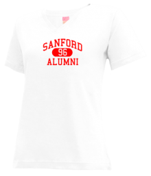 Sanford Junior High School V-neck Shirts
