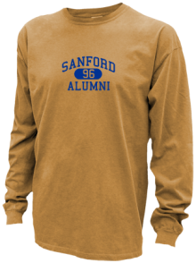 Sanford Middle School  Pigment Dyed Shirts