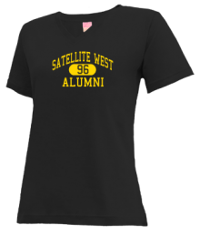 Satellite West Junior High School V-neck Shirts