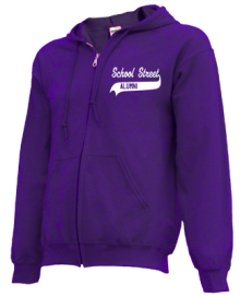 School Street Elementary School  Zip-up Hoodies
