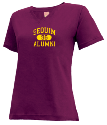 Sequim Middle School  V-neck Shirts