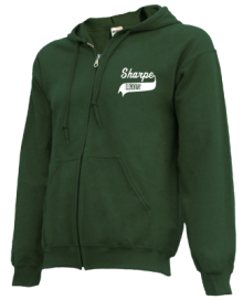 Sharpe Elementary School  Zip-up Hoodies