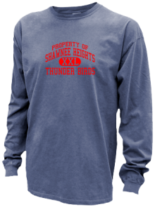 Shawnee Heights Junior High School Pigment Dyed Shirts