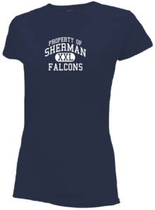 Sherman Middle School  Slimfit T-Shirts