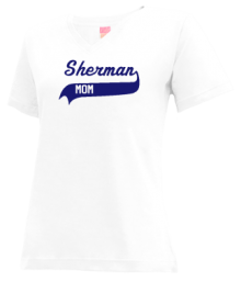 Sherman Middle School  V-neck Shirts