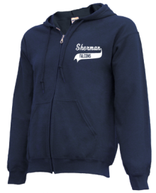 Sherman Middle School  Zip-up Hoodies
