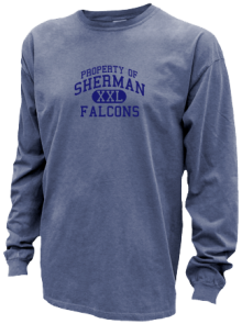 Sherman Middle School  Pigment Dyed Shirts