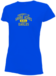 Shore Acres Elementary School  Slimfit T-Shirts