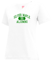 Silver Maple School  V-neck Shirts