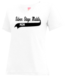 Silver Stage Middle School  V-neck Shirts