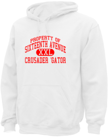 Sixteenth Avenue Elementary School  Hoodies
