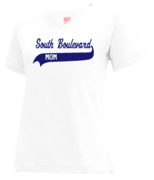 South Boulevard Elementary School  V-neck Shirts