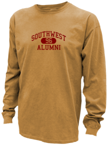 Southwest Junior High School Pigment Dyed Shirts
