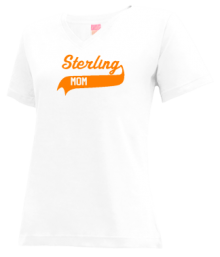 Sterling Junior High School V-neck Shirts