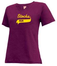 Stocks Elementary School  V-neck Shirts